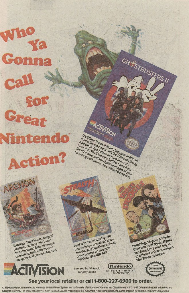 NES Ghostbusters II