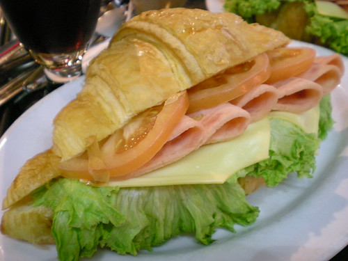 Chicken croissanwich