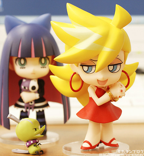 Nendoroid Panty and her pet, Chuck