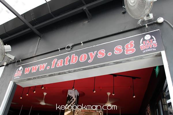 Fat Boys - The Burger Bar
