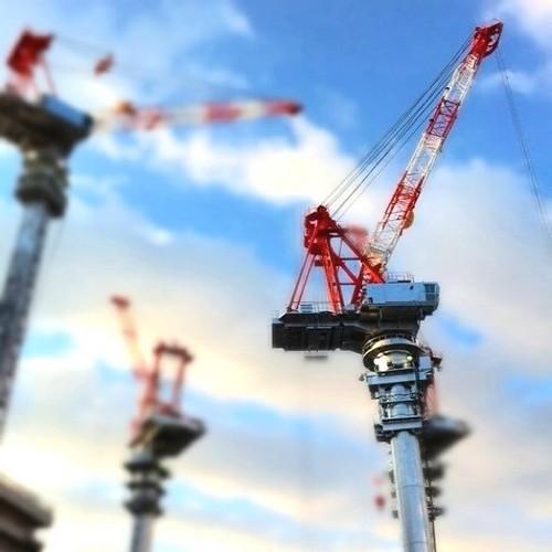 今日の主役は君だ! (^O^☆♪ #Osaka #Abeno #crane