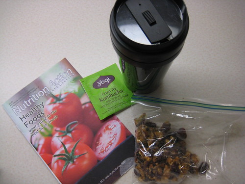 yogi tea, Nutrition Action, granola bar