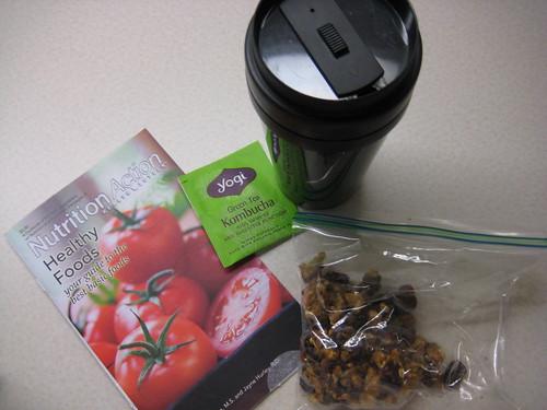yogi tea, Nutrition Action, granola bar