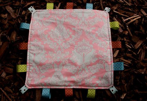 Taggie Blanket - print side