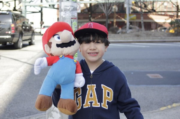 A boy and his Mario