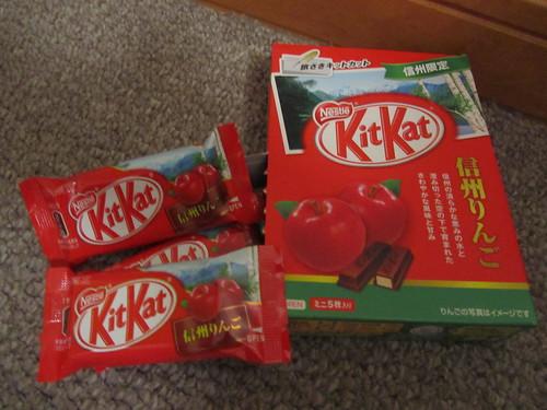 信州りんご (Shinshu Ringo/Shinshu Apple) Kit Kats from Nagano