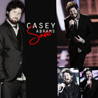 casey abrams save