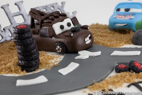 Cars Cake Mater