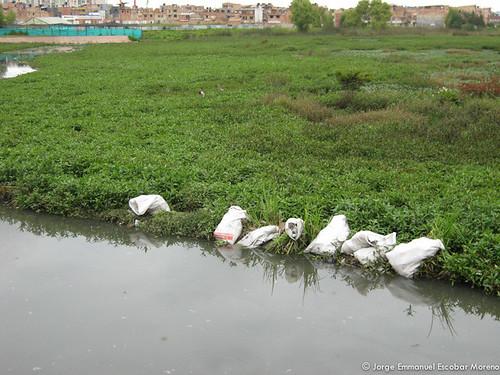Limpieza humedal Jaboque