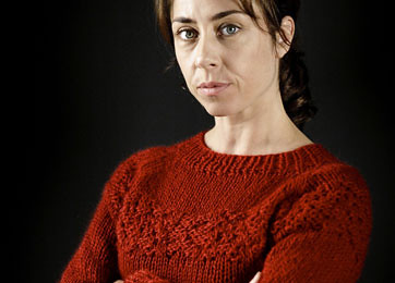 Sarah Lund's jumper - red