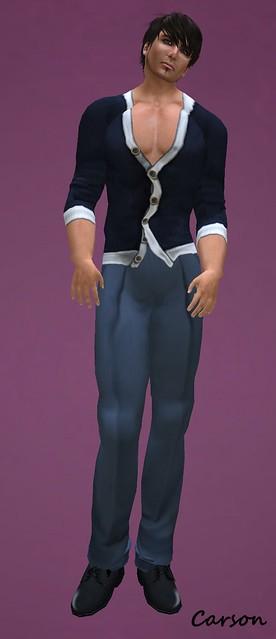 HB - Harrison - Navy Shirt  HB - Quin - Navy Pants
