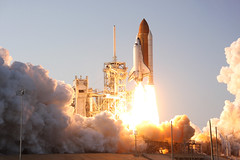 Launch of Discovery/STS-133 No.3, remote camera