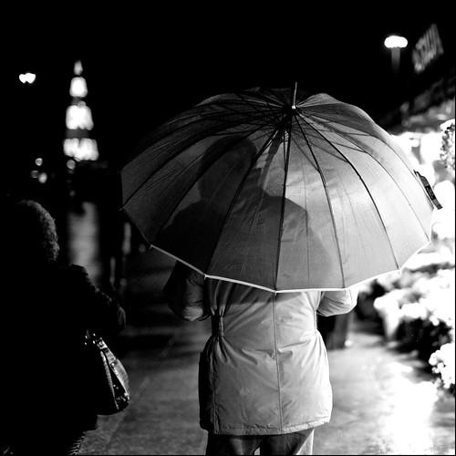 umbrella shadow