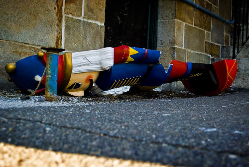 Discarded.
