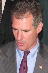 US Senator-elect Scott Brown