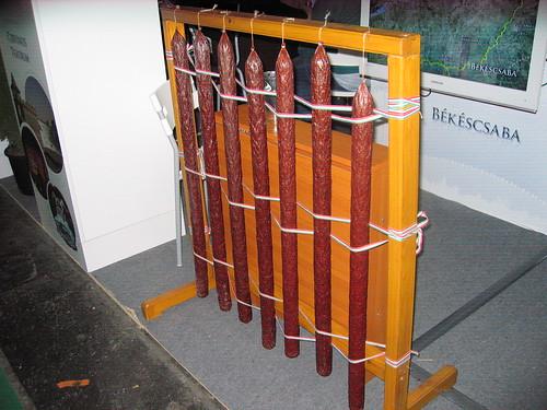 Sausage fence - Kolbászkerítés