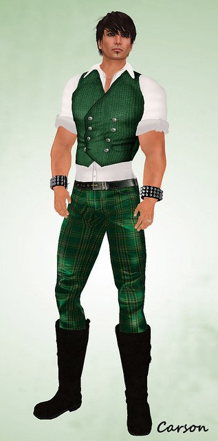 .~subVersion~. Irish Tartan Outfit for St Patrick's Day (2)