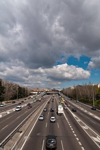 Autopista hacia el cielo