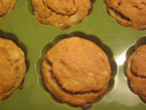 Banana Rice flour muffins