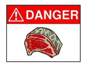 Meat is Dangerous!