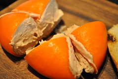 Starter detail: Meat Fruit