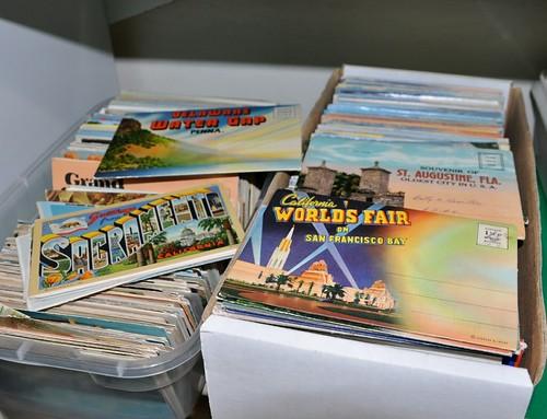 Vintage Travel Post Cards