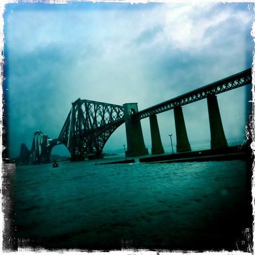 Forth Bridge Hipstamatic