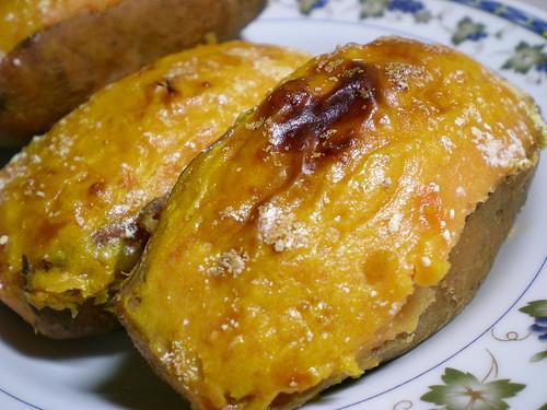 Mitsu baked sweet potatoes 1