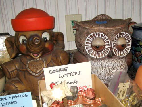 Creepy cookie jars