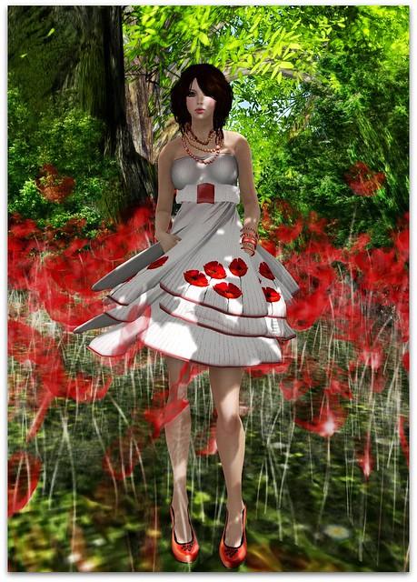 I'm Painted Dress Lpd