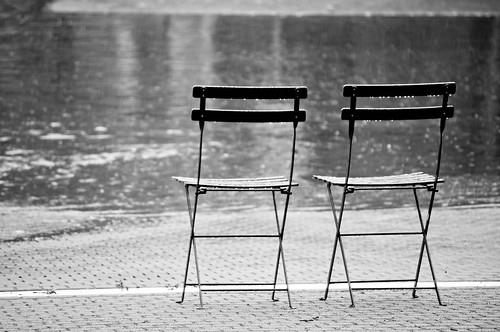 Abandon Chairs in the Rain