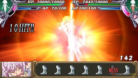 Queen's Blade : Spiral Chaos - attack 3
