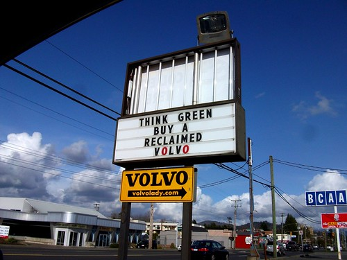 Volvo Lady Sign
