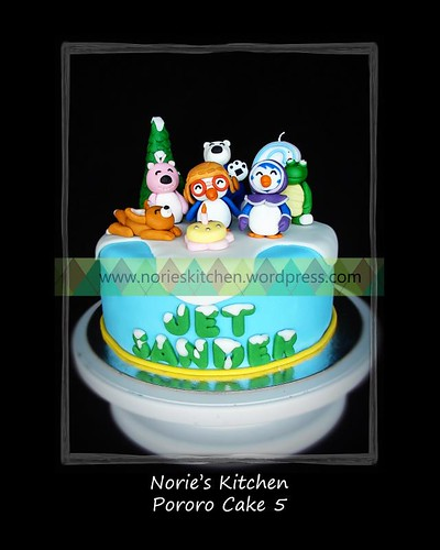 Norie's Kitchen - Pororo Cake 5