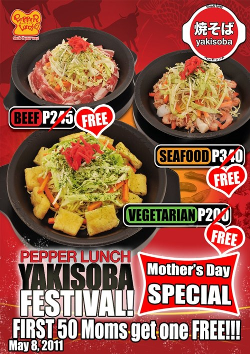 2011 Yakisoba_A Mother's day special