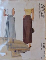 McCall 7599 pattern