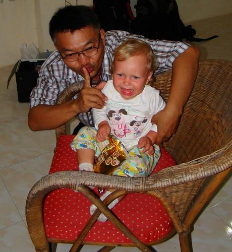 Vasilisa and Dr. Sam (Koh Phangan, Thailand)