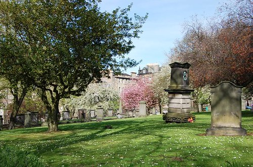 Greyfriars Churchyard view