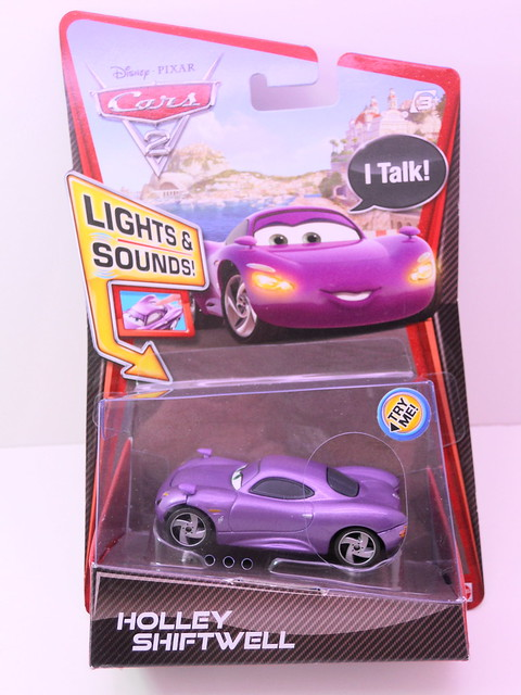 disney cars 2 lights and sounds holly shiftwell