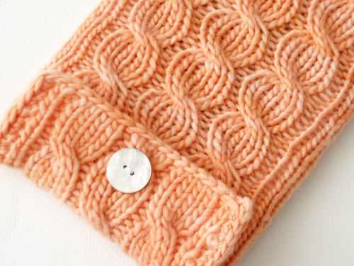 kindle sleeve apricot 3