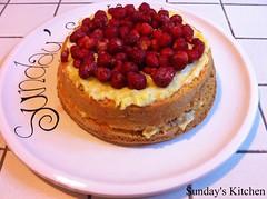 Torta fragolina / Wild strawberries cake