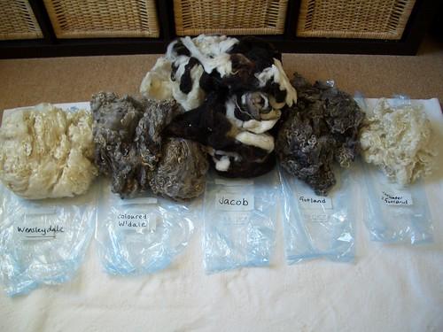 Fleece selection