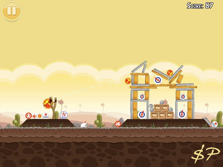Angry Birds Spoof