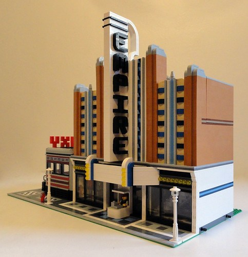 Galaxy Diner and Empire Theater