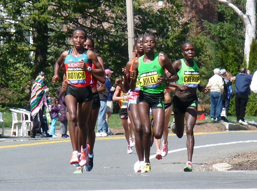 Kilel leads the pack