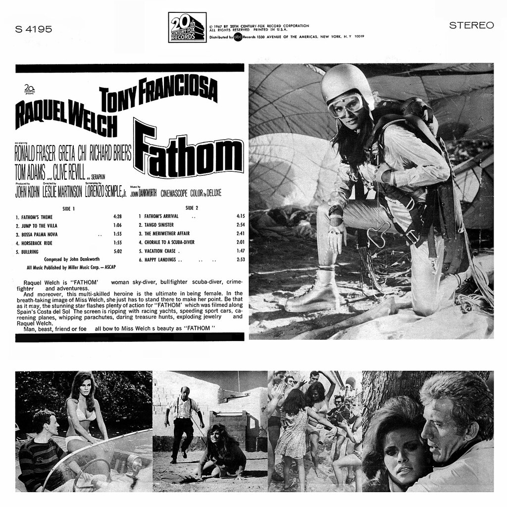 John Dankworth - Modesty Blaise (Original Motion Picture Soundtrack Album)