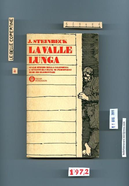 John Steinbeck, La valle lunga. Mondadori 1972. Copertina