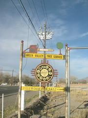Roadside sign, Corrales, NM
