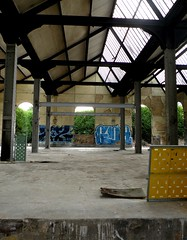 Entrepôt à graffitis
