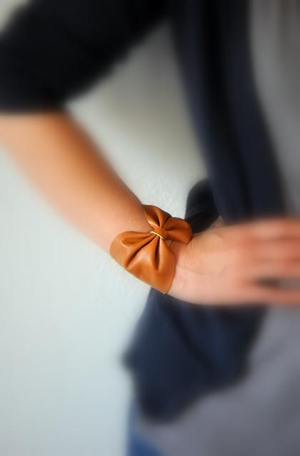 DIY bracelet en cuir